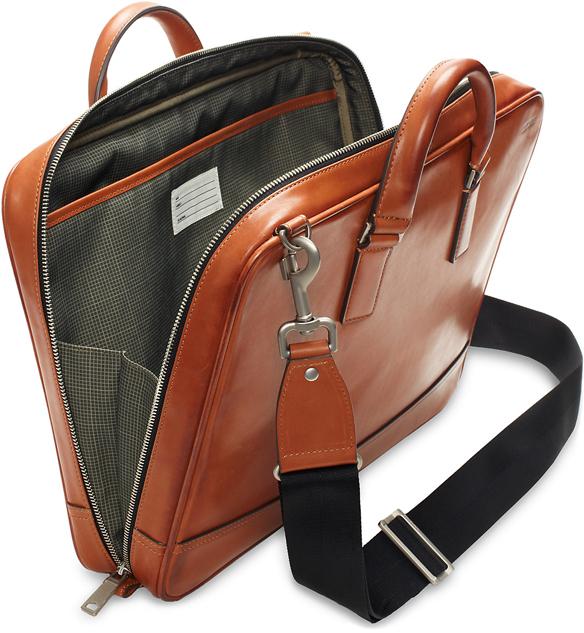 Jack Spade Fulton Leather Darrow Brief   GregoryWest