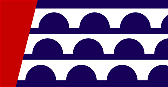 Des Moines city flag design | Gregory West