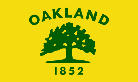 Oakland city flag design | Gregory West