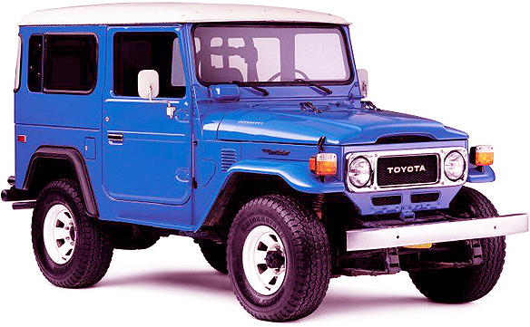 Toyota Land Cruiser J40 | GregoryWest