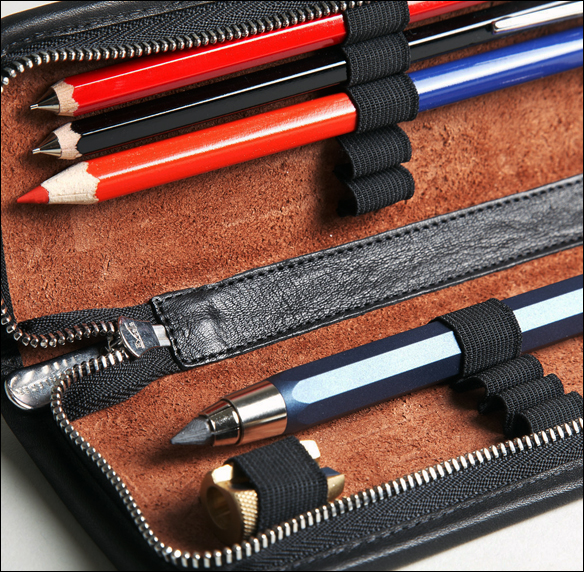 Sonnenleder Lenz pen & pencil case | GregoryWest