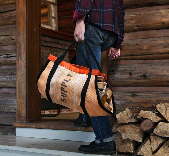 Oxgut Hose Co. Walsh wood carrier | GregoryWest
