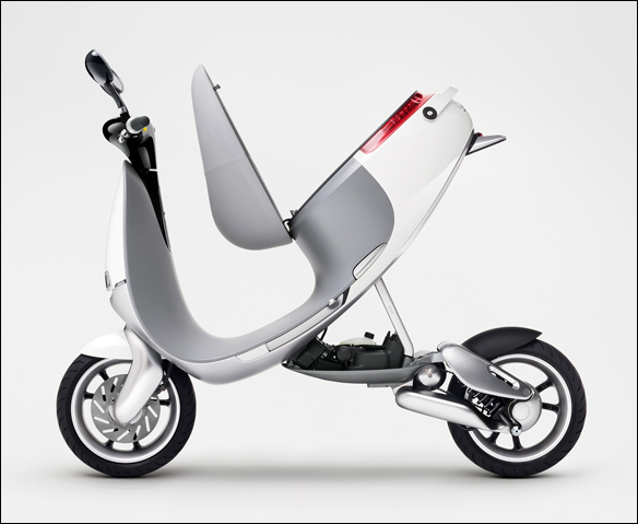 Gogoro Smartscooter electric scooter concept | GregoryWest